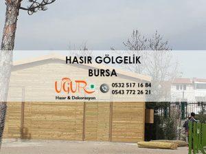 Bursa Hasır Gölgelik